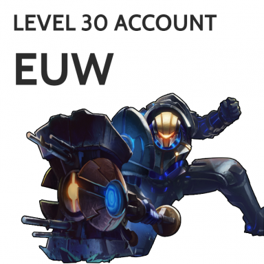 League Of Legends::Items : [EUW] Level.30 32K IP,400 RP,No Champions,No Runes,No Email Unverified