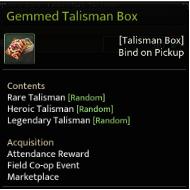 Devilian::Items : Gemmed Talisman Box*5