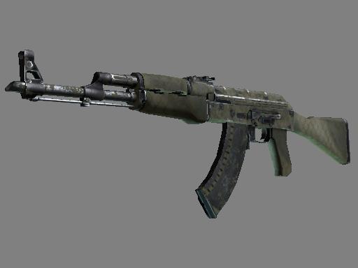 ::Items : AK-47 | Safari Mesh (Battle-Scarred)