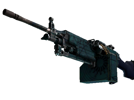 CSGO::Items : M249 | Shipping Forecast (Field-Tested)