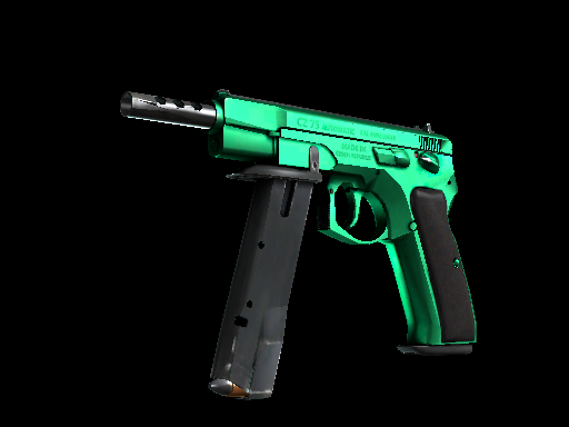 ::Items : CZ75-Auto | Emerald (Factory New)