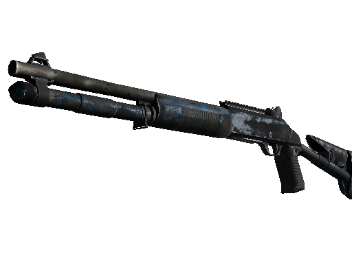 CSGO::Items : XM1014 | VariCamo Blue (Battle-Scarred)