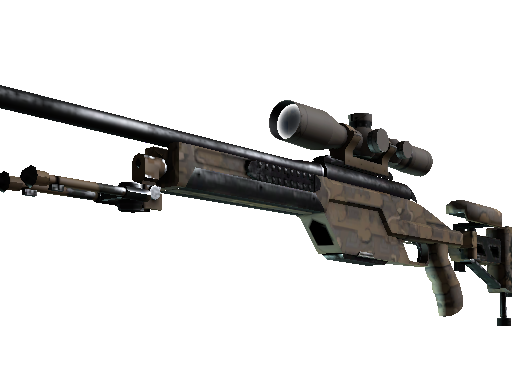 CSGO::Items : SSG 08 | Necropos (Well-Worn)