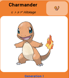 Pokémon GO::Items : Charmander-NO.004= 4 Charmander CANDY