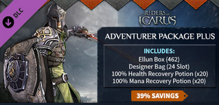 Riders of Icarus::Items : Riders of Icarus Adventurer Package Plus