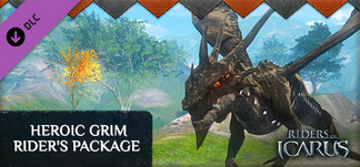 Riders of Icarus::Items : Riders of Icarus: Heroic Grim Rider's Package