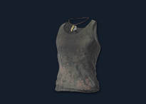 PlayerUnknown's Battlegrounds::Items : Dirty Tank-top (Grey)