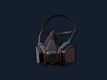 PlayerUnknown's Battlegrounds::Items : Gas Mask (Half)