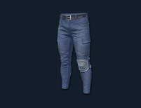 PlayerUnknown's Battlegrounds::Items : Combat Pants (Blue)