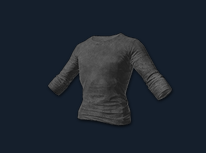 PlayerUnknown's Battlegrounds::Items : Long Sleeved T-shirt (Black)