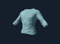 PlayerUnknown's Battlegrounds::Items : Long Sleeved T-shirt (Light Blue)