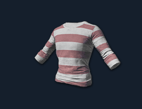 PlayerUnknown's Battlegrounds::Items : Long Sleeved T-shirt (Striped)