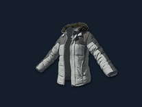 PlayerUnknown's Battlegrounds::Items : Padded Jacket (GREY)