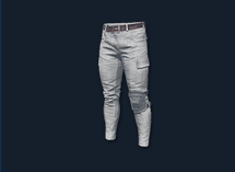 PlayerUnknown's Battlegrounds::Items : Combat Pants (White)