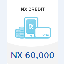 ::Items : NXX Credit NXX 60,000 Of Account