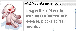 Ragnarok::Items :  +12 Mad Bunny Special