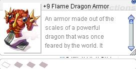 Ragnarok::Items : +9 Flame Dragom Armor