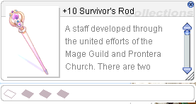 Ragnarok::Items : +10 Survivor's Rod