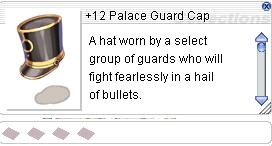 Ragnarok::Items : +12 Palace Guard Cap
