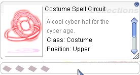 Ragnarok::Items : Costume Spell Circuit