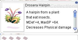 Ragnarok::Items : Drosera Hairpin