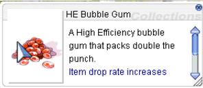 Ragnarok::Items : HE Bubble Gum