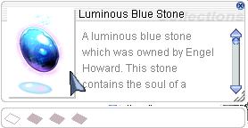 Ragnarok::Items : Luminous Blue Stone