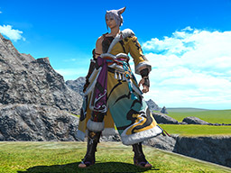 Final Fantasy XIV::Items : Lord Hien's Attire