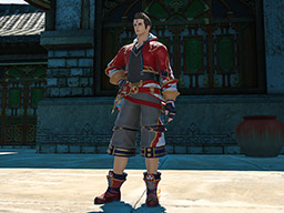 Final Fantasy XIV::Items : Nezha Lord's Attire