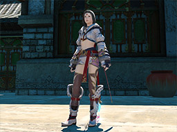Final Fantasy XIV::Items : Nezha Lady's Attire