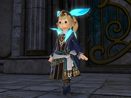Final Fantasy XIV::Items : Emerald Carbuncle Attire