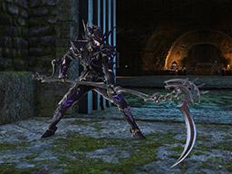 Final Fantasy XIV::Items : Blackbosom Fate Reaper