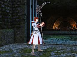 Final Fantasy XIV::Items : Blackbosom Heart Reaper