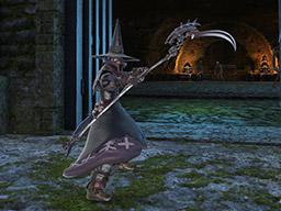 Final Fantasy XIV::Items : Blackbosom Blood Reaper