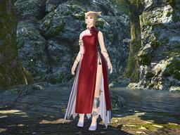 Final Fantasy XIV::Items : Far Eastern Garb for Women