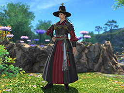 Final Fantasy XIV::Items : Far Eastern Patriarch's Attire