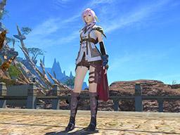 Final Fantasy XIV::Items : Lightning's Attire