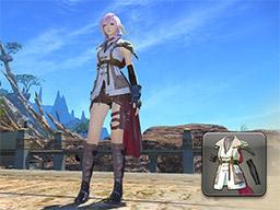 Final Fantasy XIV::Items : Guardian Corps Coat
