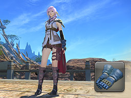 Final Fantasy XIV::Items : Guardian Corps Gauntlets