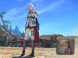 Final Fantasy XIV::Items : Guardian Corps Skirt