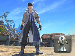 Final Fantasy XIV::Items : Bohemian's Coat