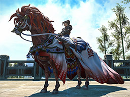 Final Fantasy XIV::Items : Mount: Red Hare (Account-wide)