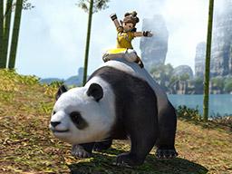 Final Fantasy XIV::Items : Mount: Mystic Panda (Account-wide)