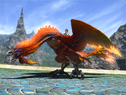 Final Fantasy XIV::Items : Mount: Bennu (Account-wide)