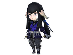 Final Fantasy XIV::Items : Minion: Wind-up Yugiri