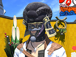 Final Fantasy XIV::Items : Black Hitsuji Kabuto