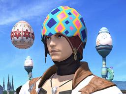 Final Fantasy XIV::Items : Vibrant Egg Cap