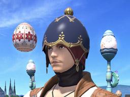 Final Fantasy XIV::Items : Midnight Egg Cap