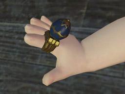 Final Fantasy XIV::Items : Midnight Egg Ring