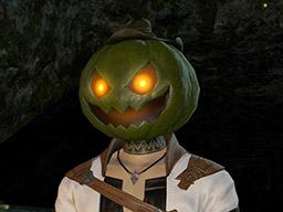Final Fantasy XIV::Items : White Pumpkin Head